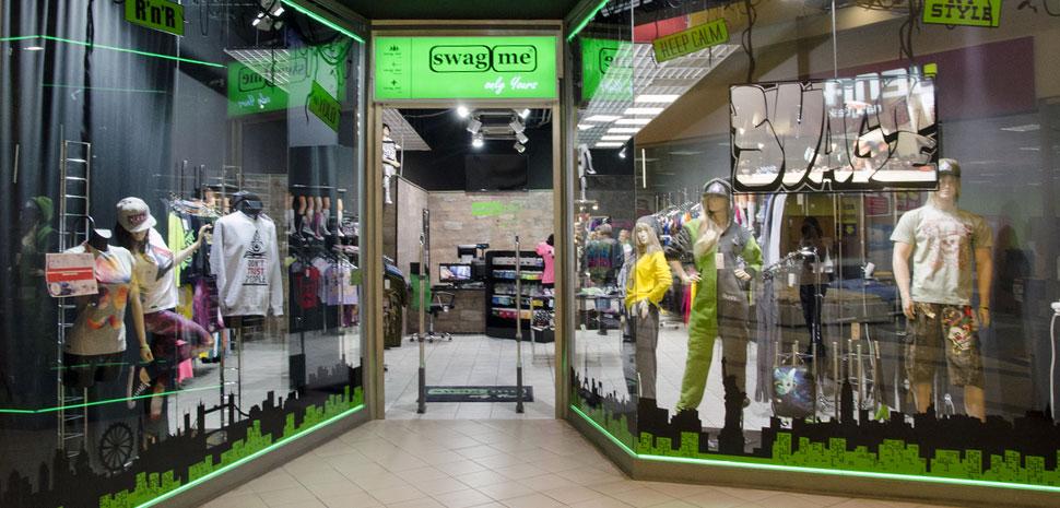 Obchod Swagme Brno OC Futurum