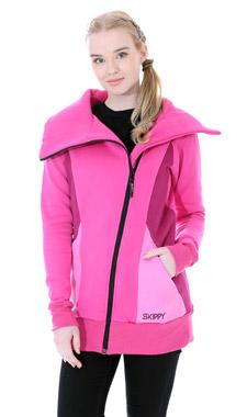 Mikino-kabátek pink
