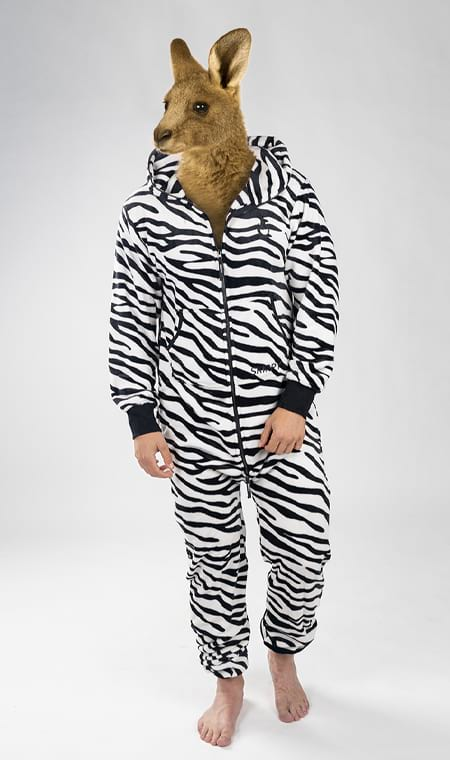 Skippy teddy zebra