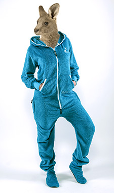 Skippy teddy blue
