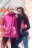 náhled - Mikino-kabátek black pink grey