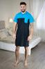 náhled - Pánská noční košile blue