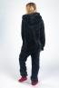 náhled - Skippy teddy black pink