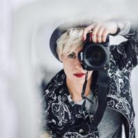 Lucie Vysloužilová autoportrét