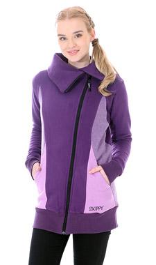 Mikino-kabátek purple