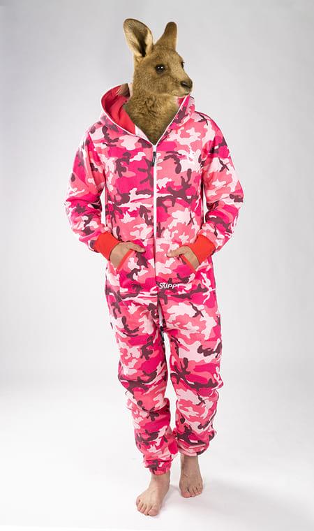 Skippy camo pink