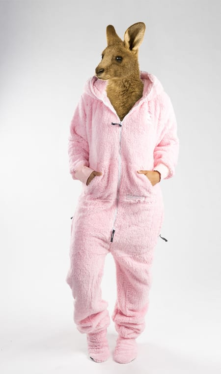 Skippy teddy pink