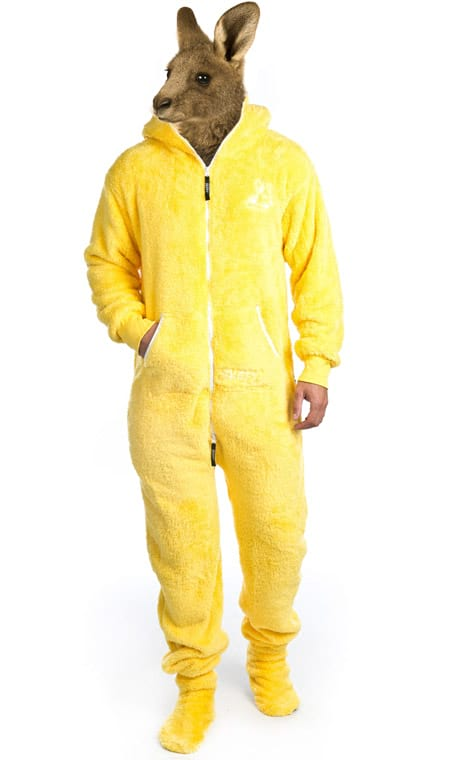 Skippy teddy yellow