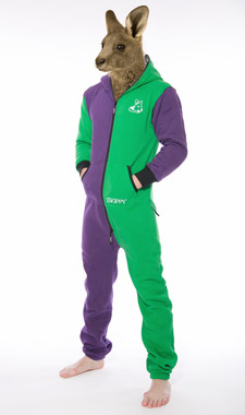 Skippy purple green