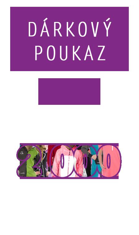 Dárkový poukaz - v hodnotě 2000 Kč