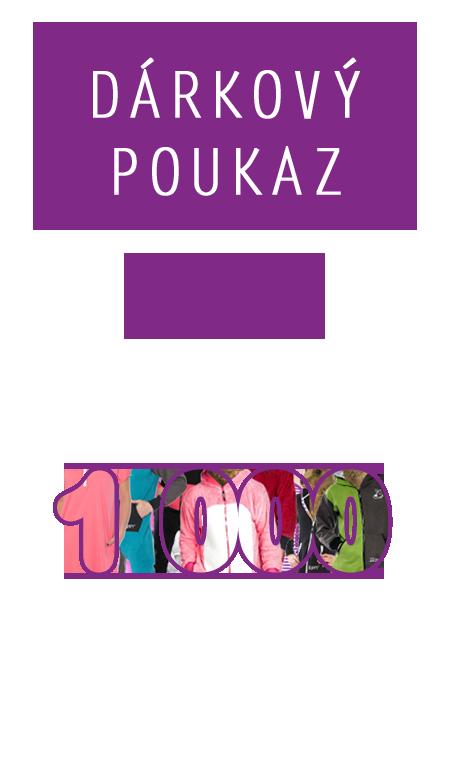 Dárkový poukaz - v hodnotě 1000 Kč