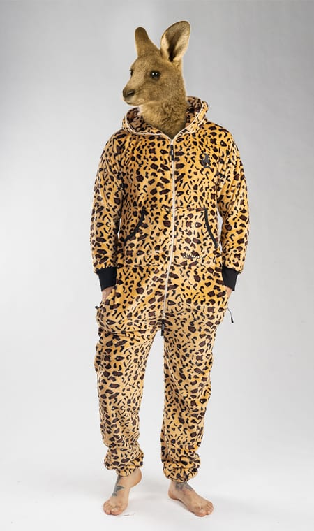 Skippy teddy leopard
